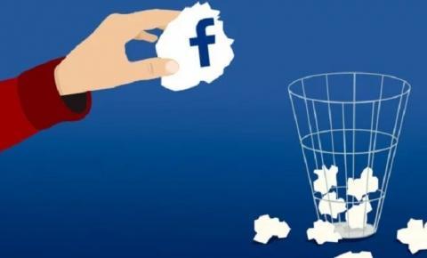 Como desativar ou excluir o Facebook
