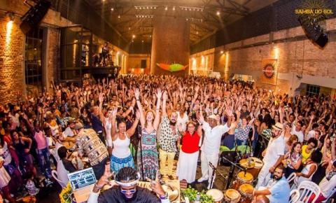 TODODOMINGO recebe o Samba do Sol com muita música brasileira e samba de roda!