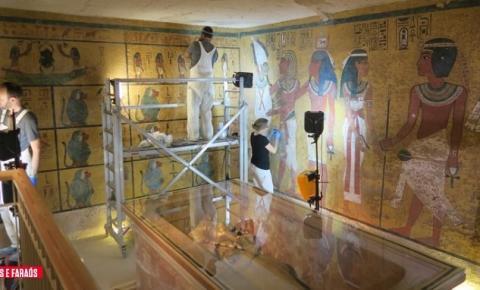 Tumba de Tutancâmon é totalmente restaurada no Egito