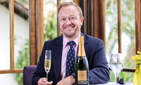 François, gerente de comunicação enólogica da Chandon no Brasil, é atração confirmada no Summer Drinks Riopreto Shopping
