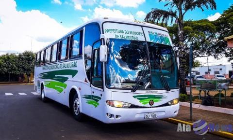 Prefeitura de Salmourão retoma transporte universitário para faculdades da região