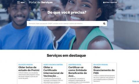 Portal de Serviços tem mais 964 ofertas na área de educação