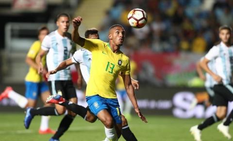 Brasil vence a Argentina pela última rodada do Sul-Americano Sub-20
