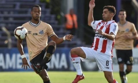 Santos FC estreia na Sul-Americana com empate em 0 a 0 diante do River Plate-URU