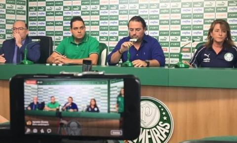 Palmeiras apresenta elenco e comissão técnica do time feminino