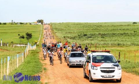 Prefeitura de Salmourão promove terceira edição do Passeio Ciclístico