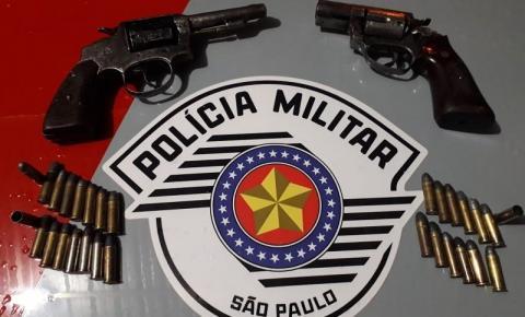 Polícia Militar prende homem com duas armas de fogo em Adamantina/SP