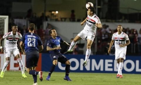 São Paulo empata com o Talleres e se despede da Libertadores