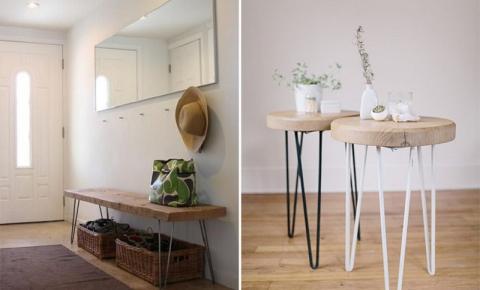 Hairpin Legs: móveis com pernas de grampo de cabelo! Você vai querer em casa!