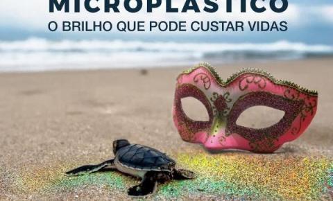 PM Ambiental alerta sobre o risco a natureza do uso de glitter no Carnaval