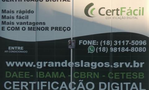 Grandes Lagos Assessoria e Certificação Digital abre nova filial em Araçatuba