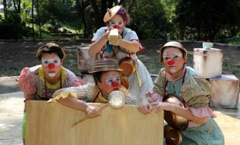 Circo di SóLadies apresenta CHOQUE-ROSA no SESC Campinas!