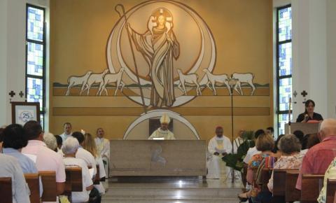 Bispo reforça Igreja em saída em missa de aniversário de criação da Diocese