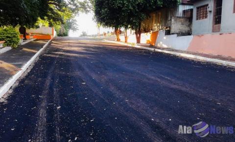 Bairro Guarani de Salmourão recebe serviços de melhoria e manutenção