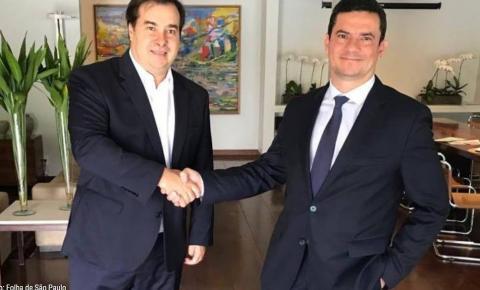 Pacote anticrime de Moro deve andar após encontro de ministro com Maia