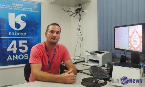 Agência da Sabesp em Salmourão conta com novo encarregado de serviços
