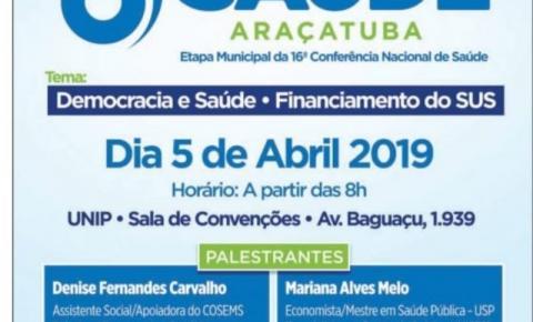 8ª Conferência Municipal de Saúde vai falar de democracia e SUS