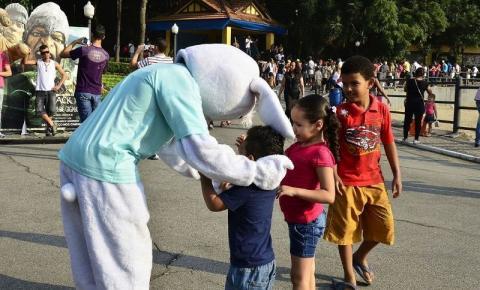 Páscoa invade o Parque da Água Branca no feriadão