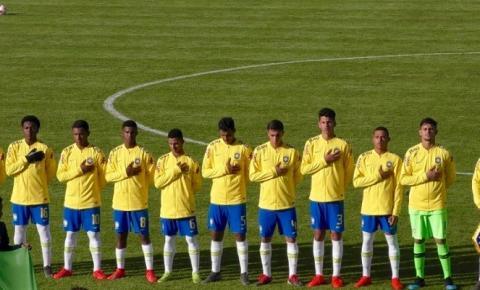 Seleção Brasileira Sub-16 perde na estreia do Torneio de Montaigu
