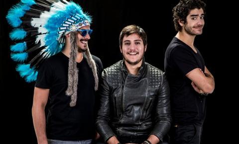 MAKE U SWEAT O trio que está fazendo muito barulho no cenário da música eletrônica nacional