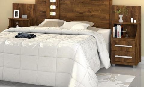 Cabeceira de cama de casal: saiba como escolher a melhor opção para seus móveis para o quarto
