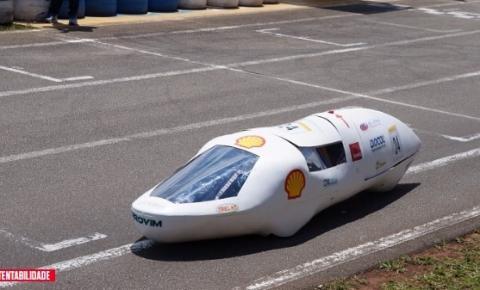 Estudantes brasileiros desenvolvem veículo que roda 543 km com um litro de gasolina