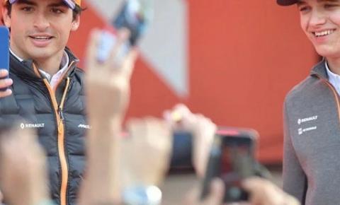 Lando Norris e Carlos Sainz confirmados como pilotos da McLaren em 2020