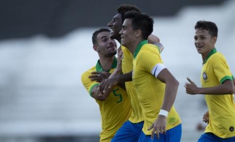 Seleção Brasileira Sub-17 convocada para amistosos contra o Chile em Goiânia