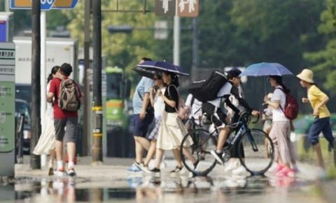 Onda de calor no Japão causa a morte de 57 pessoas em 7 dias