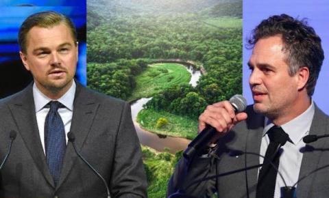 Leonardo DiCaprio e Mark Ruffalo se unem para defender a Amazônia