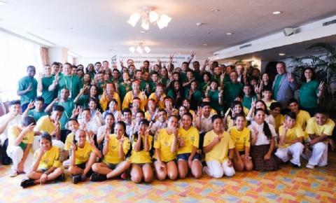 Seleção recebe homenagens em almoço de confraternização promovido pela prefeitura de Hamamatsu