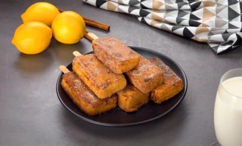 Uma delícia espanhola: picolé de leite frito