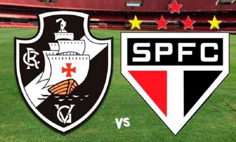 Vasco e São Paulo se enfrentam em São Januário neste domingo