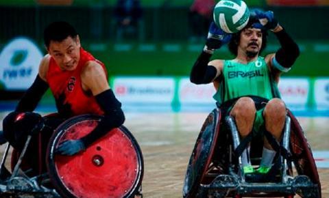 Brasil sonha com ouro e vaga a Tóquio no rúgby em cadeira de rodas