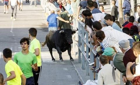 Homem morre ao ser atingido em corrida de touros