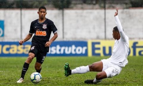 Corinthians e Santos empatam pelo Brasileirão Sub-20