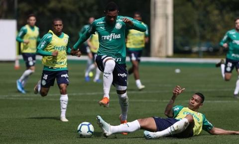 Palmeiras se reapresenta após vitória contra o Goiás e treina na Academia