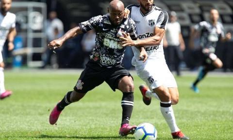 Pelo Brasileirão, Timão empata com o Ceará na Arena Corinthians