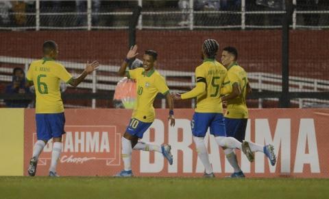 Seleção Olímpica: Brasil x Chile às 20h desta segunda no Pacaembu