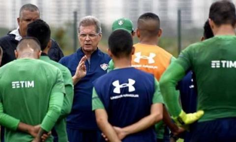 Fluminense pode sair da zona do rebaixamento contra Palmeiras