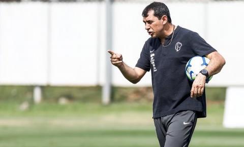 Timão intensifica preparação para enfrentar o Fluminense