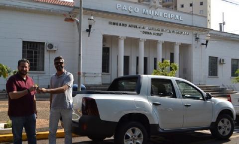 Secretaria de Serviços Públicos adquire novo veículo zero quilômetro