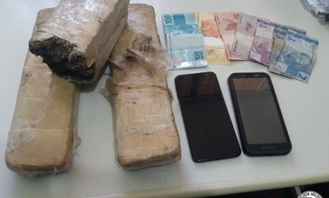 Veículo que trazia drogas para Marília é interceptado pela Polícia militar