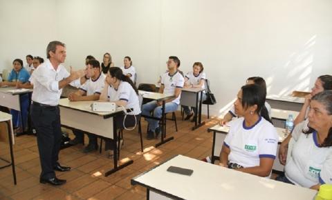 +SAÚDE: Agentes da Prefeitura de Birigui estão participando de programa de capacitação