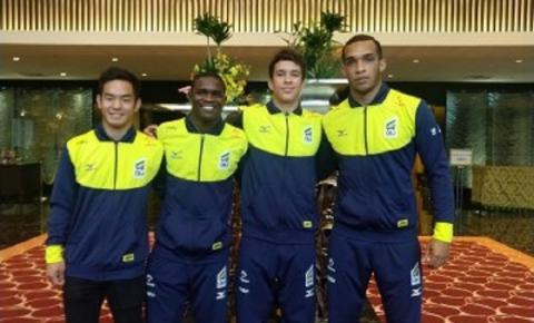 Programa de transição das categorias de base levou judocas Sub-23 para treinamento com a seleção principal na preparação para o Mundial de Tóquio
