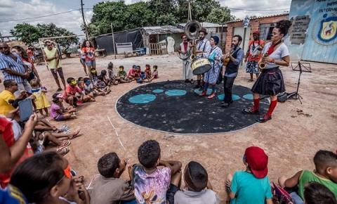 SESC Parque Dom Pedro II recebe Circo Sem Fronteiras no próximo domingo