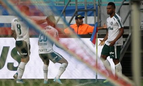 Borja marca no segundo tempo e Palmeiras empata com Bahia na Fonte Nova