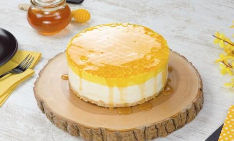 Cheesecake favo de mel facílimo de fazer
