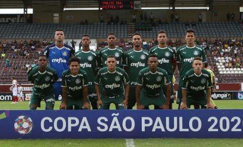 Palmeiras vence Petrolina-PE e garante vaga na segunda fase da Copinha