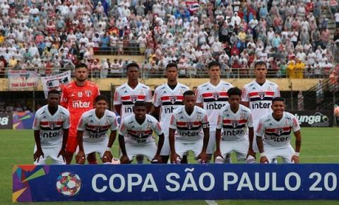 Tricolor estreia na Copinha com empate diante do Operário-PR